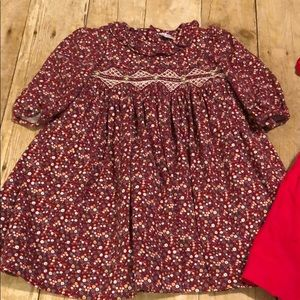 Edgehill Smocked Dresses Lot for fall 18 months